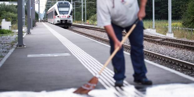 """Attaque dans un train suisse: pas d'""""indice"""" d'acte terroriste, selon la police - La Libre"""