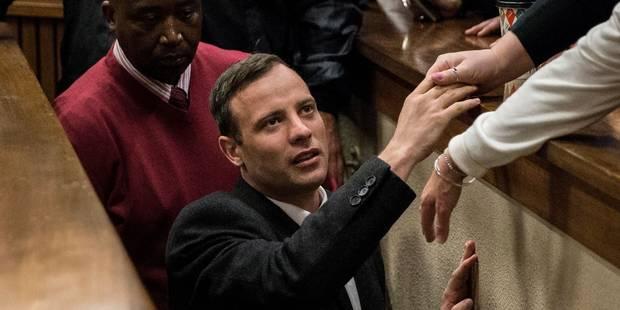Oscar Pistorius placé sous surveillance anti-suicide - La Libre