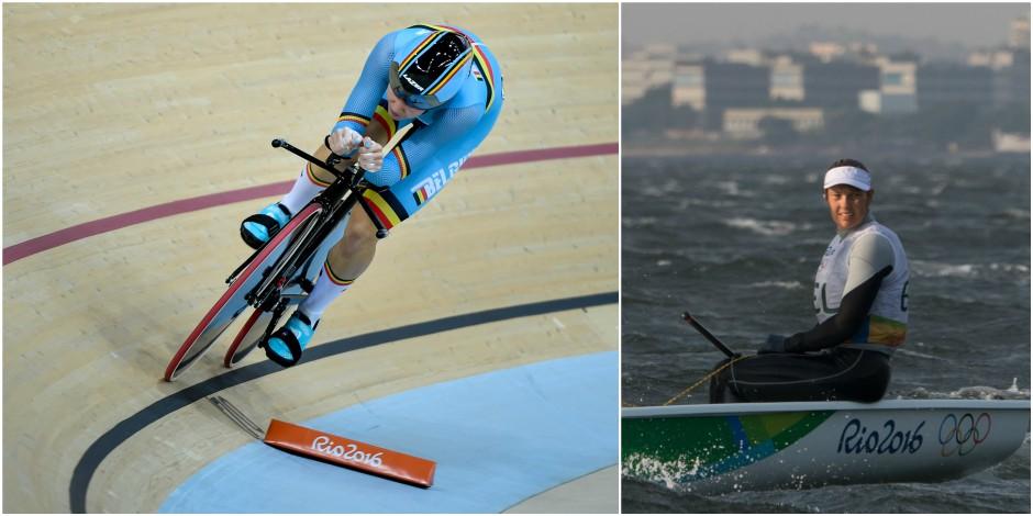 Jolien D'Hoore seule 2e de l'omnium après la troisième épreuve, course reportée pour Van Acker