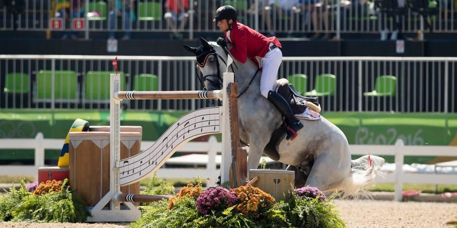 Un cavalier belge éliminé puis exclu des JO après la découverte de sang sur son cheval