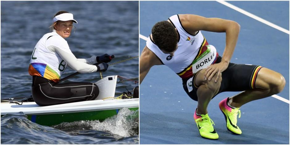 Les Belges à Rio : Evi Van Acker échoue au pied du podium, Jonathan Borlée éliminé du 200m