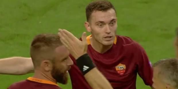 Vermaelen voit rouge pour son premier match officiel avec la Roma (VIDEO) - La Libre
