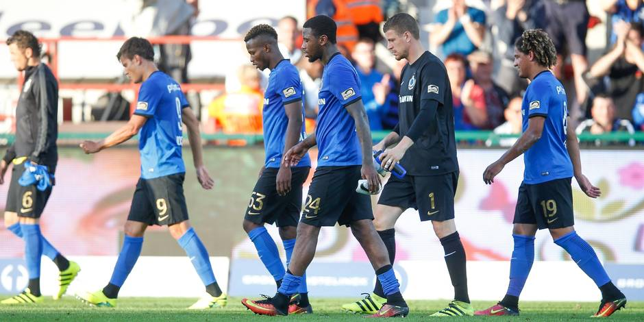 Deuxième défaite de la saison pour Bruges à Courtrai (2-1)