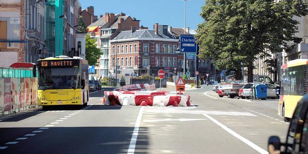 Namur: Ce qui se cache derrière les bouchons du centre-ville - La Libre