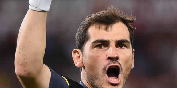 Casillas non retenu avec la sélection espagnole face aux Diables - La Libre