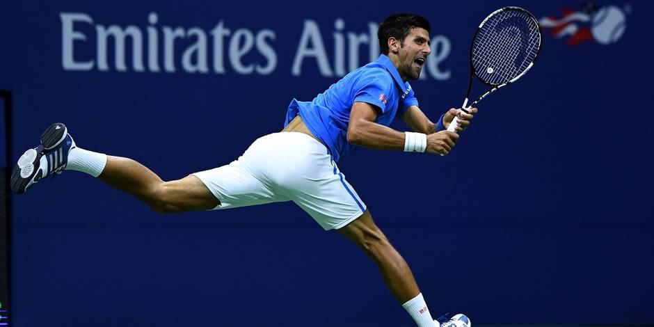 US Open: Djokovic au 3e tour sans jouer