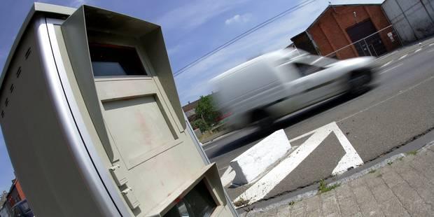 La Région wallonne va prêter des radars mobiles aux zones de police locale - La Libre