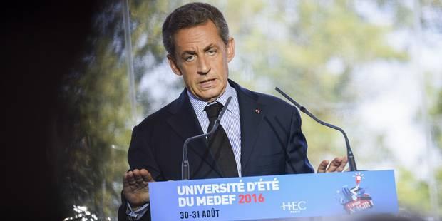 Le groupe France Télé menacé par Sarkozy ? - La Libre
