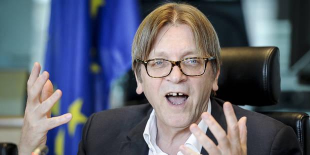 Guy Verhofstadt nommé représentant du Parlement européen pour négocier le Brexit - La Libre