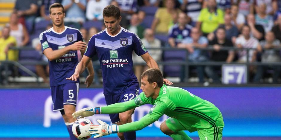 Anderlecht remporte le duel des Sporting après avoir été mené au score