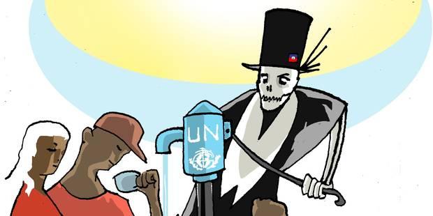 Haïti, entre l'ONU et le choléra ? - La Libre