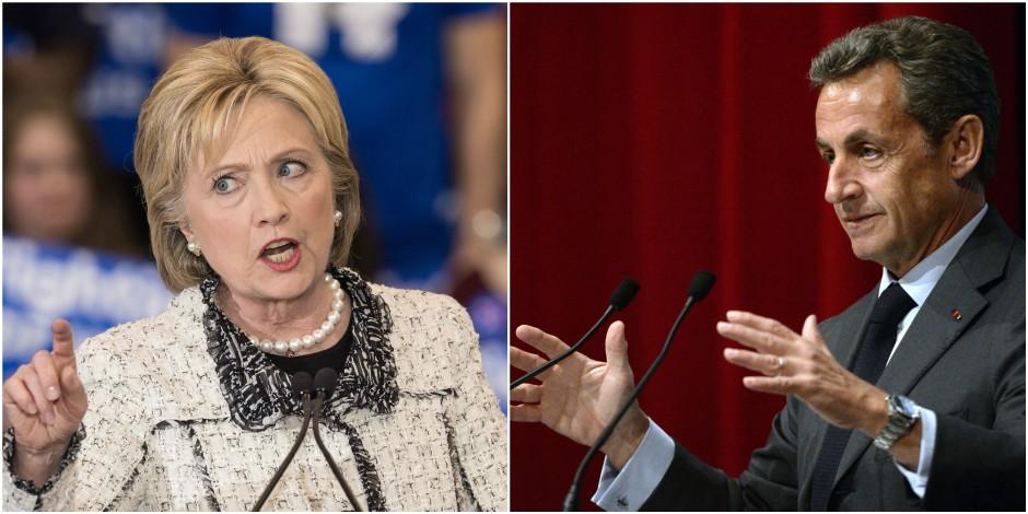 Baromètre : les Belges choisiraient Clinton et Sarkozy