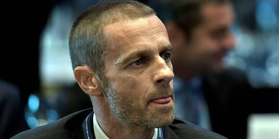 Aleksander Ceferin élu président de l'UEFA