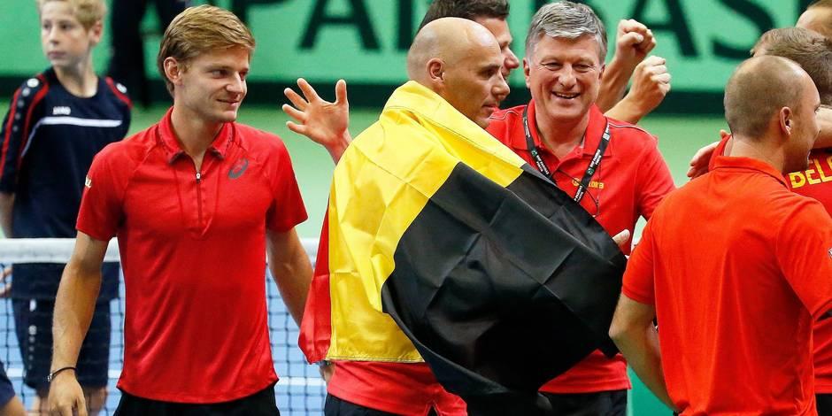 Coupe Davis: Joris De Loore bat Thomaz Bellucci, la Belgique bat le Brésil 4-0
