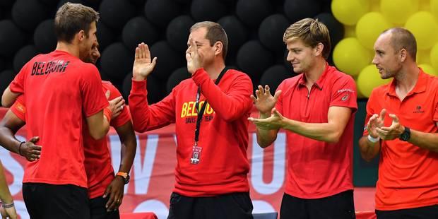 Coupe Davis : la Belgique affrontera l'Allemagne - La Libre