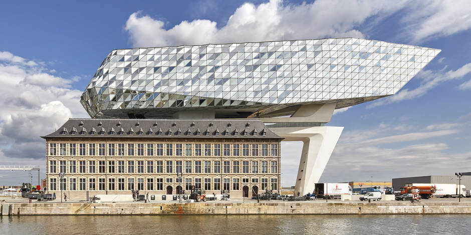 """La """"Havenhuis"""" de Zaha Hadid, un nouveau diamant pour Anvers"""