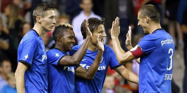Le Club de Bruges s'impose facilement à Mouscron (0-3) - La Libre