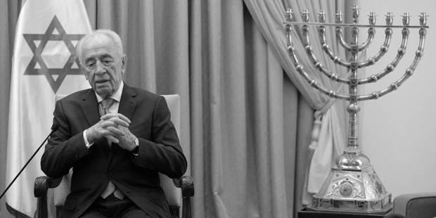 Shimon Peres a rejoint les autres fondateurs d'Israël - La Libre