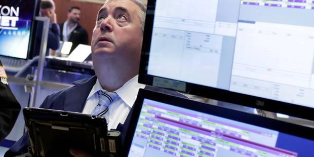Wall Street termine en baisse, plombé par les inquiétudes autour de Deutsche Bank - La Libre