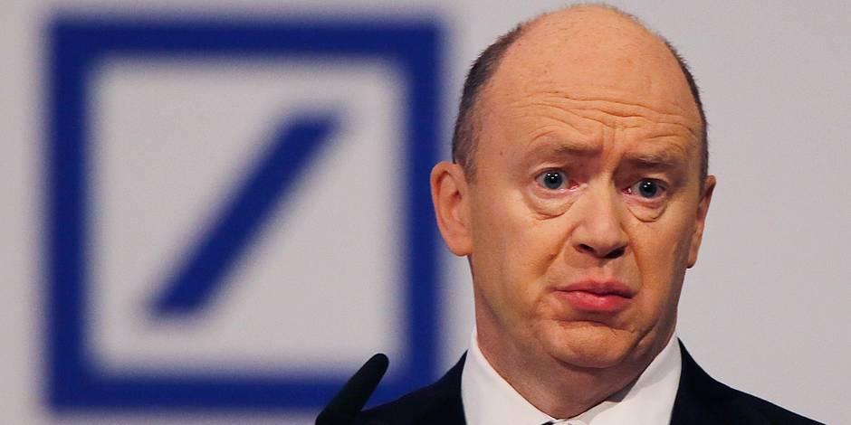 Revue boursière: La Deutsche Bank secouée - La Libre