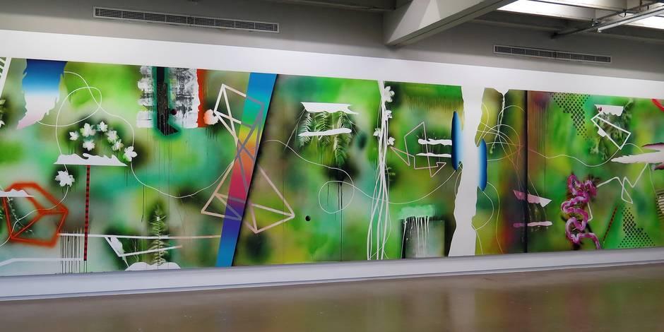 Un puissant manifeste pictural belgo-américain - La Libre