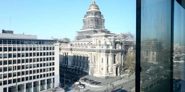 Alerte à la bombe levée dans deux bâtiments de justice à Bruxelles - La Libre