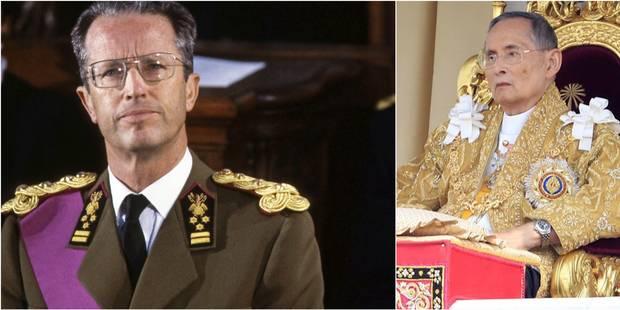 Une longue amitié entre le roi Bhumibol et le roi Baudouin - La Libre