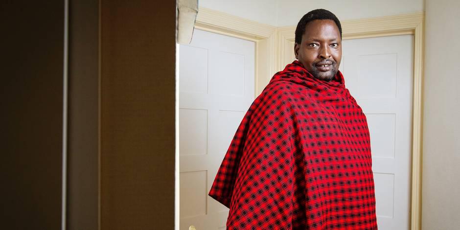 Edward Loure, le Massaï qui sait comment sauver les siens - La Libre