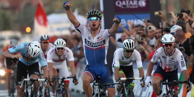 Les Belges ont fait la course mais c'est Sagan le champion du monde ! - La Libre