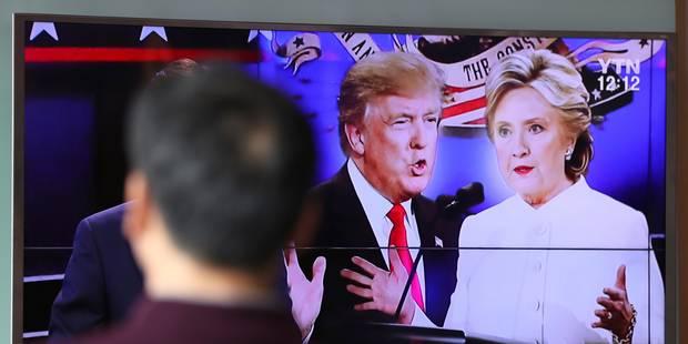 Les moments forts du débat Clinton-Trump - La Libre