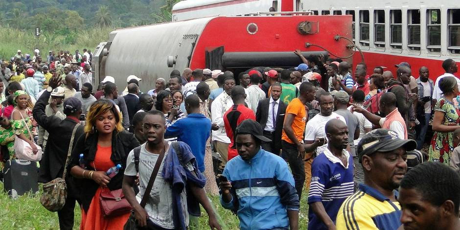 Cameroun: le bilan de l'accident de train grimpe à 79 morts