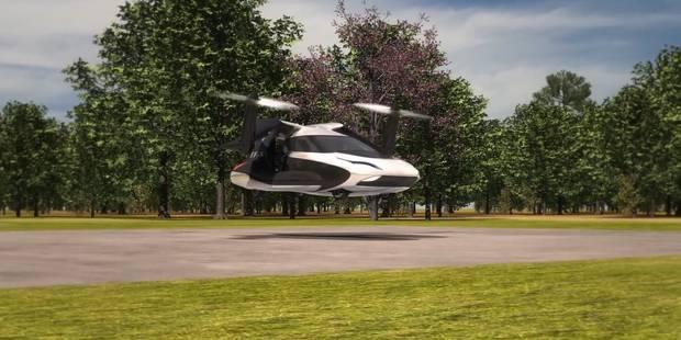 La voiture volante est dans l'air du temps (VIDEO) - La Libre