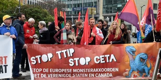 La Belgique place une bombe sous le siège du CETA - La Libre