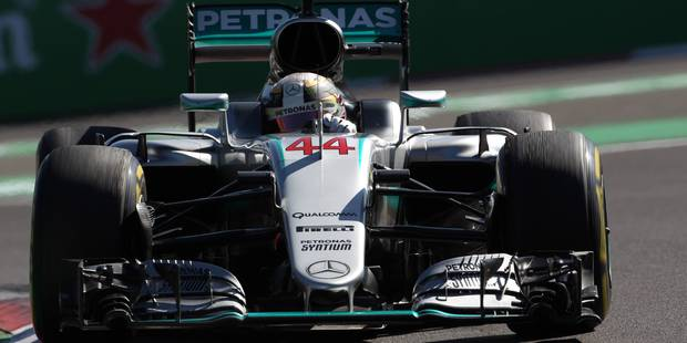 GP du Mexique: Lewis Hamilton en pole position devant Nico Rosberg - La Libre