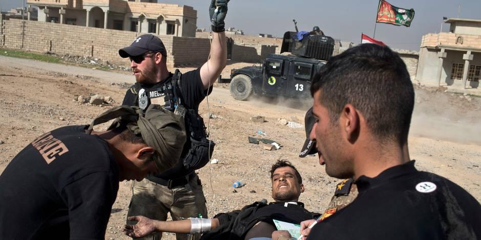Irak: l'armée reprend une ville clé au sud de Mossoul