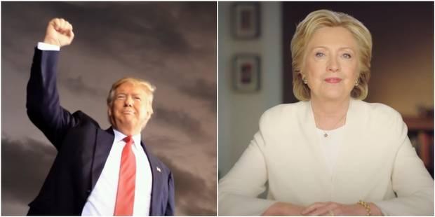Les arguments ultimes de Clinton et Trump pour faire la différence - La Libre