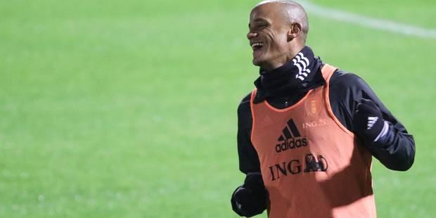 Pays-Bas - Belgique: annoncé titulaire, Kompany disparaît du onze avant le coup d'envoi en raison d'une blessure muscula...