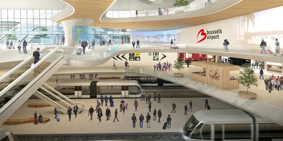 Le projet de Brussels Airport pour 2040 ne plaît pas à tout le monde