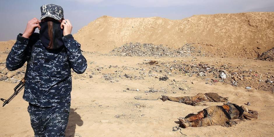 Irak: un charnier pour ceux qui ont osé résister à Daech