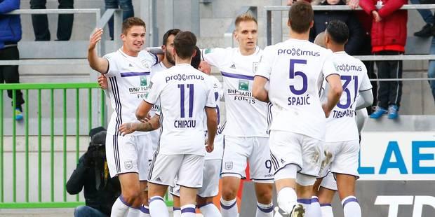 Anderlecht s'éteint en deuxième période et s'incline 3-2 à Zulte - La Libre
