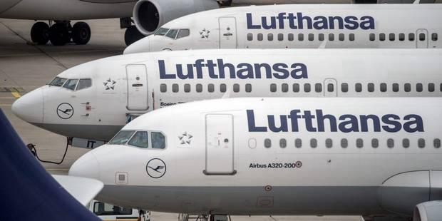 Grève chez Eurowings mardi et chez Lufthansa mercredi - La Libre