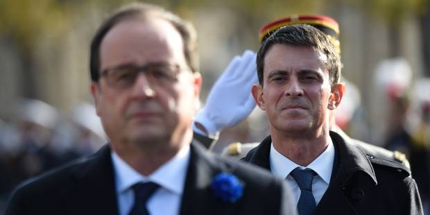 Valls face à Hollande? La gauche en miettes sur fond de remaniement - La Libre