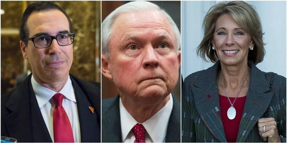 Cabinet Trump: voici les responsables nommés jusqu'à présent