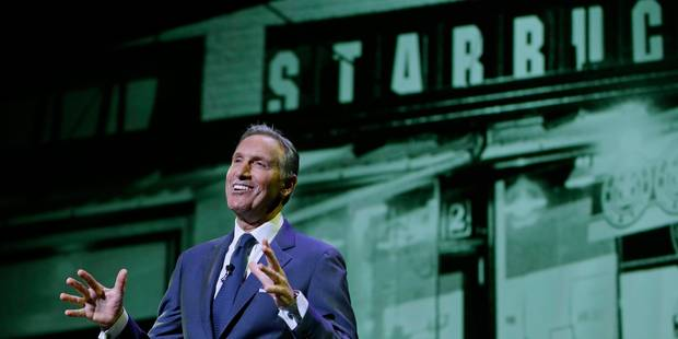 Démission surprise de Howard Schultz, le PDG de Starbucks - La Libre