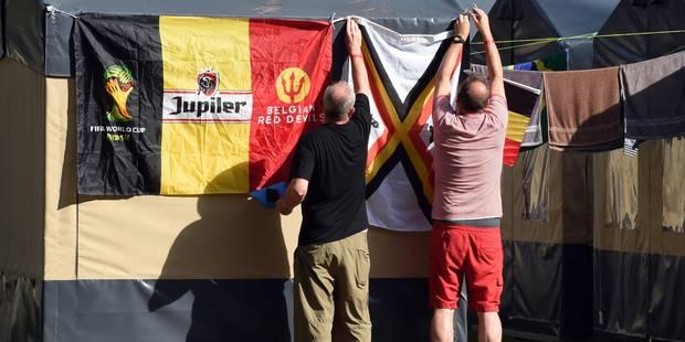 Des amendes requises contre les organisateurs du camping Devillage et l'Union belge - La Libre