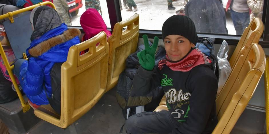 Course contre la montre pour aider 20.000 enfants qui ont fui Alep-Est
