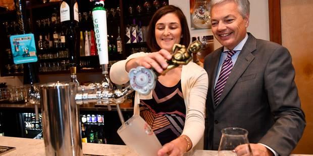 Didier Reynders au Texas: la bière belge coule à flots à Austin - La Libre