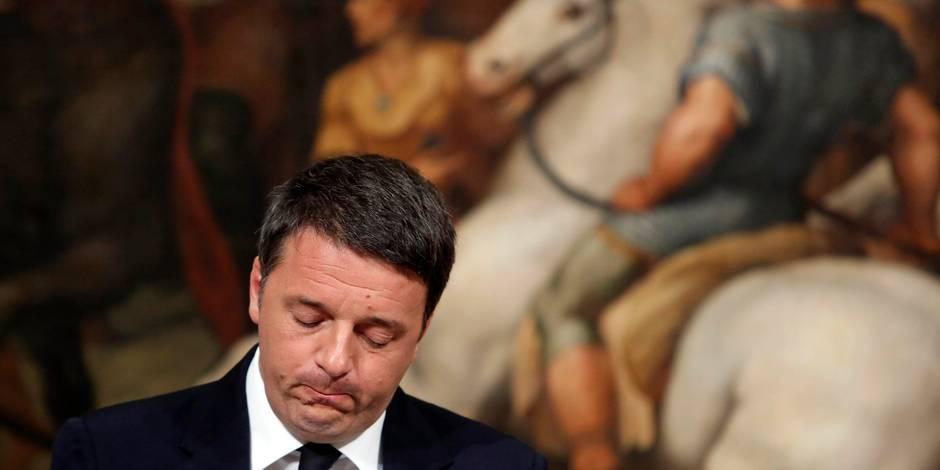 """Edito: Le """"démolisseur"""" Renzi s'est cassé les dents - La Libre"""