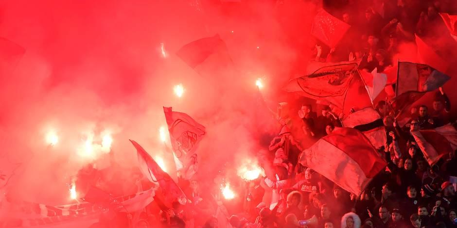 Le Standard condamné à deux matches à huis-clos: le club réagit... et ne comprend pas