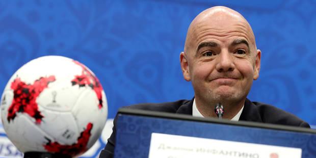48 équipes, des groupes de 3: voici la Coupe du Monde à la sauce Infantino - La Libre